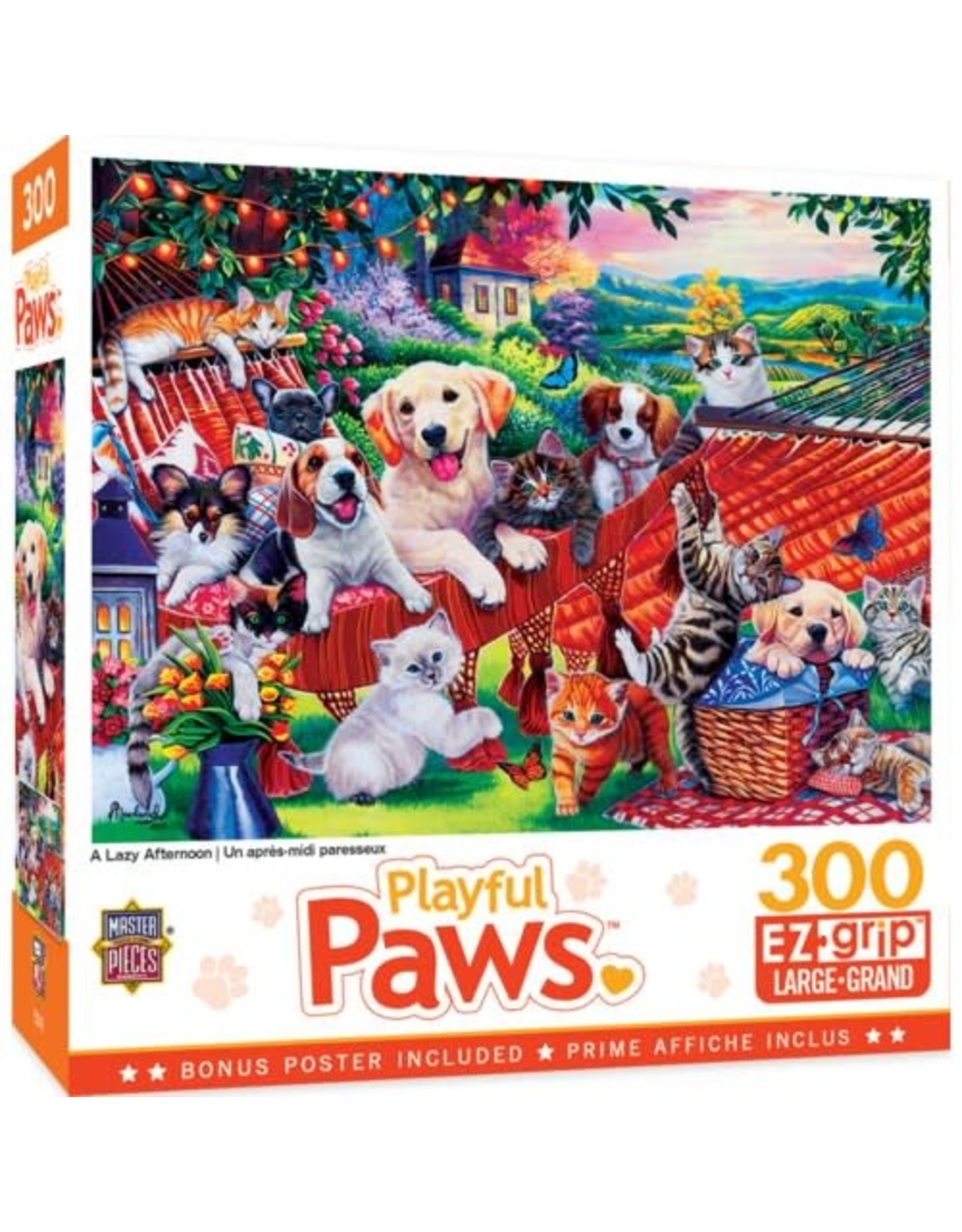Masterpieces BF32031 300pc puzzle Playful Paws