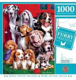 Masterpieces BF71906 1000pc puzzle Sitting Pretty