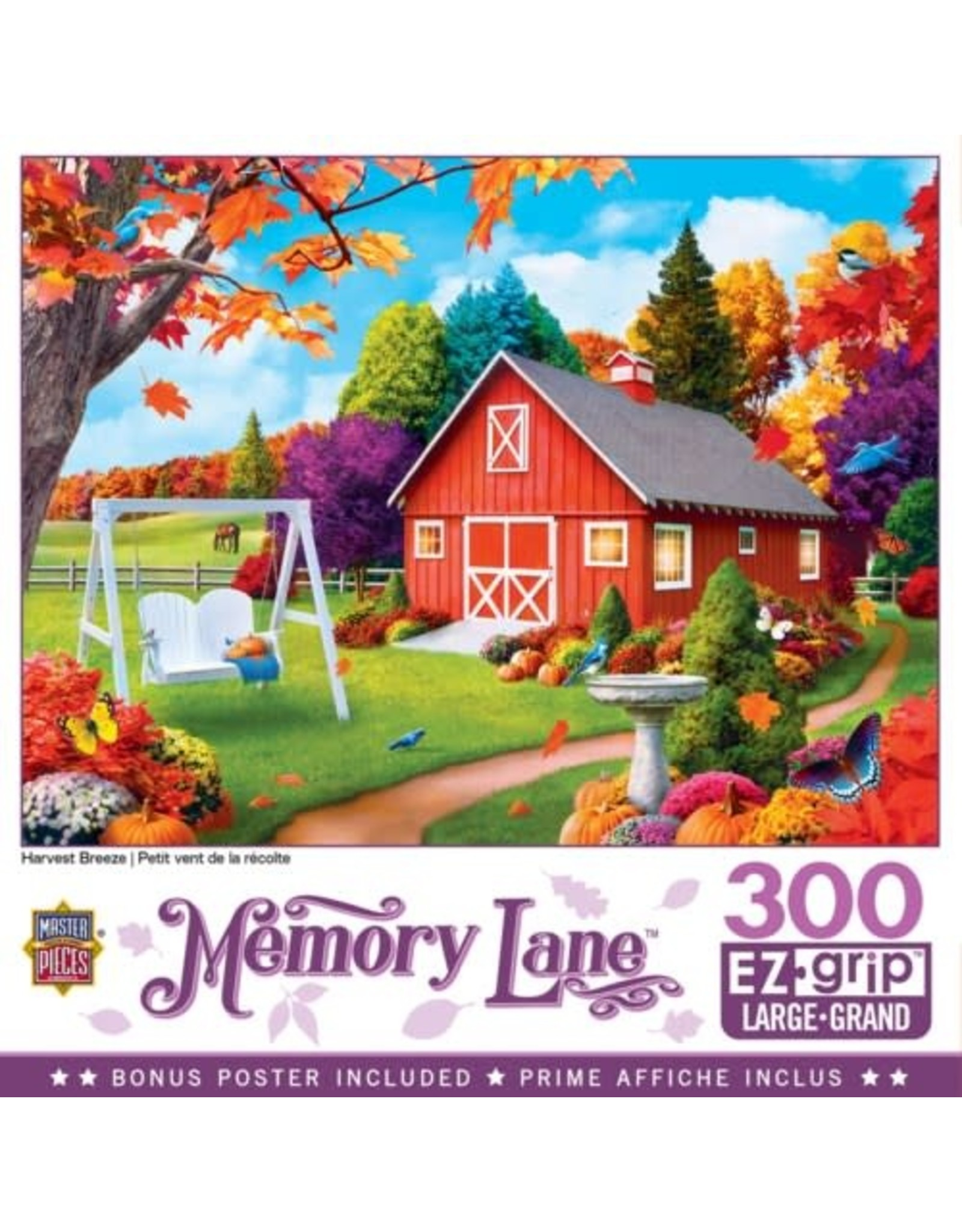 Masterpieces BF31807 300pc puzzle Memory Lane HRVT