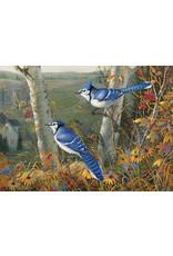 Cobble Hill Puzzles OM80021 Cobblehill Puzzle 1000pc Blue Jays