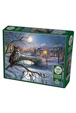 Cobble Hill Puzzles OM80181 Cobblehill Puzzle 1000pc Edge of Town