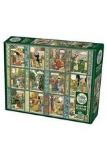 Cobble Hill Puzzles OM80311 Cobblehill Puzzle 1000pc Jardiniere: A Gardiner's Calendar