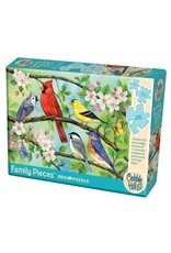 Cobble Hill Puzzles OM54606 Cobblehill Puzzle 350pc Family Pieces Bloomin' Birds
