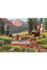 Cobble Hill Puzzles OM80136 Cobblehill Puzzle 1000pc Mountain Thunder