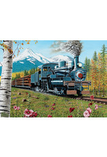Cobble Hill Puzzles OM80169 Cobblehill Puzzle 1000pc Lumbering Along