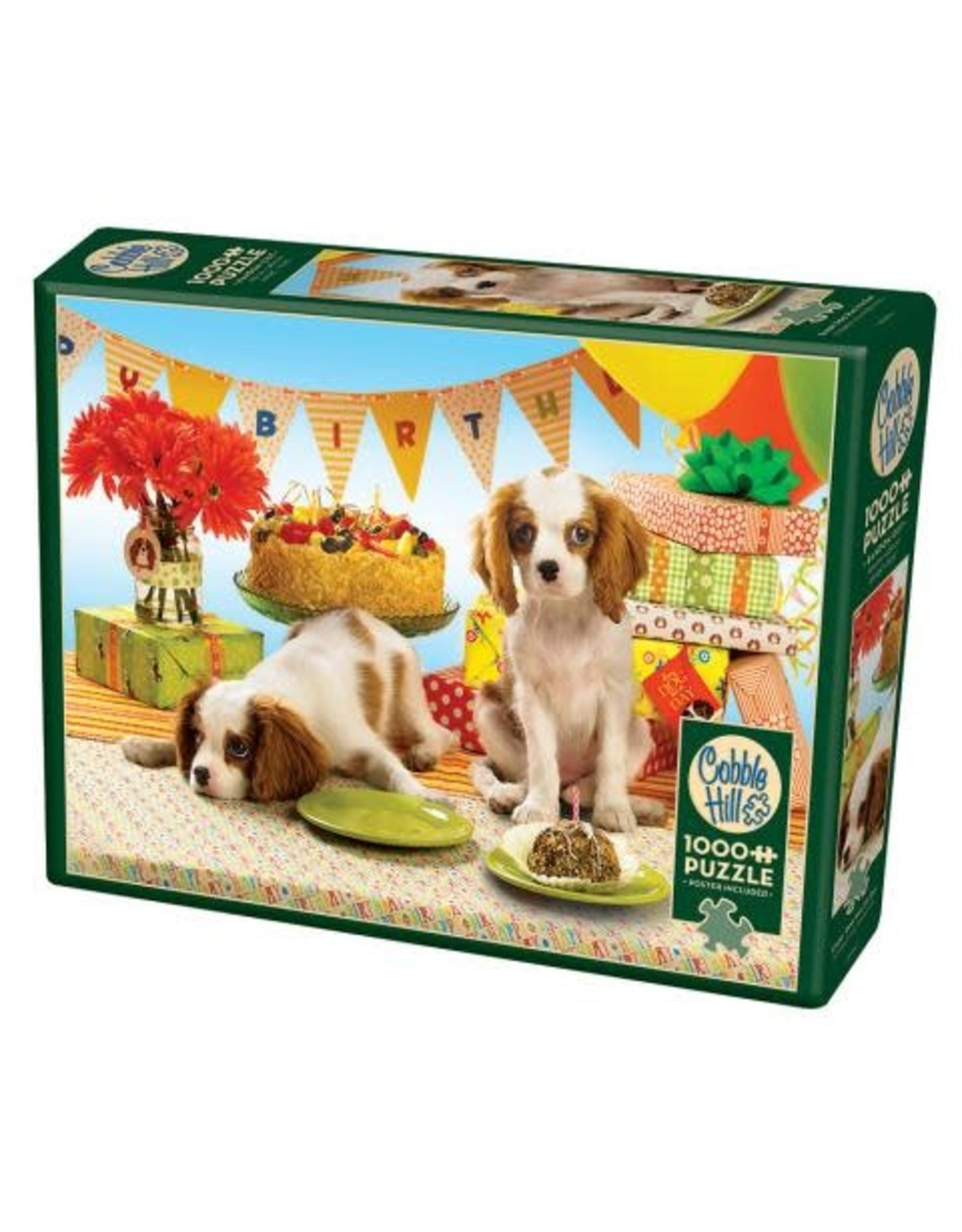 Cobble Hill Puzzles OM80050 Cobblehill Puzzle 1000pc Every Dog Has Its Day