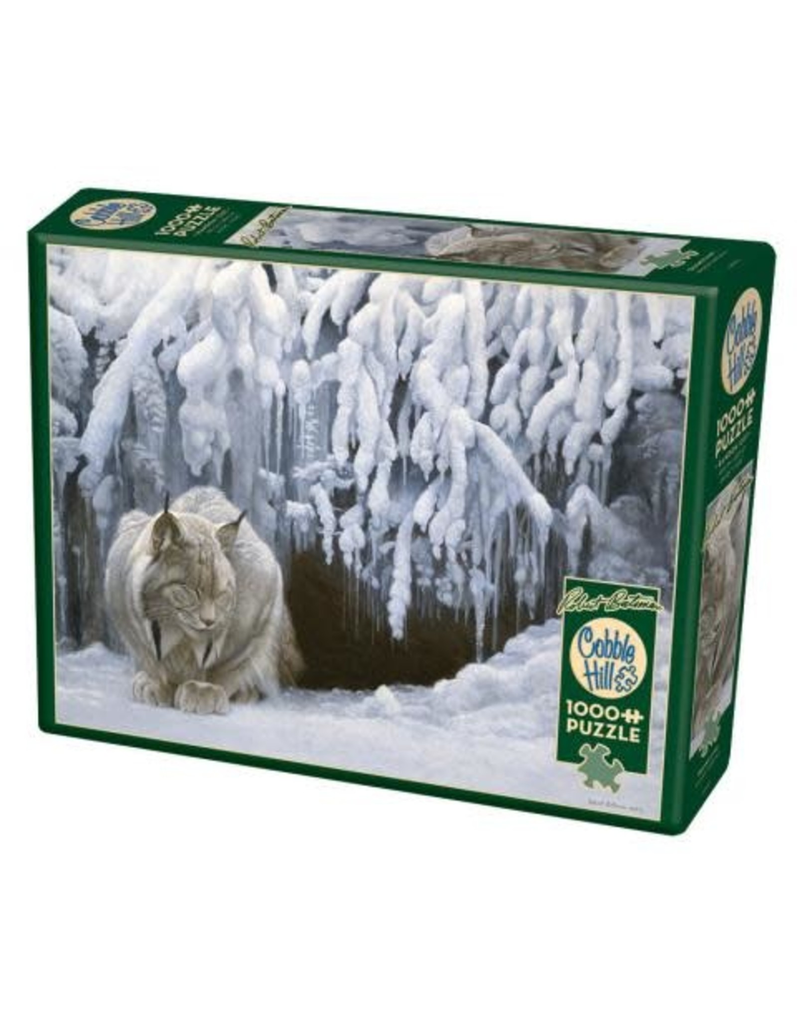 Cobble Hill Puzzles OM80123 Cobblehill Puzzle 1000pc Dozing Lynx
