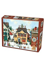 Cobble Hill Puzzles OM88002 Cobblehill Puzzle 275pc Christmas Town