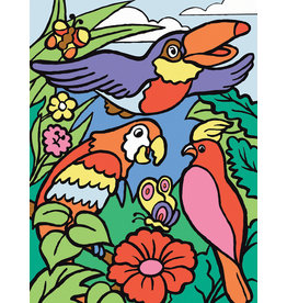 Royal & Langnickel OM99306 Paint by Number Birds 4+