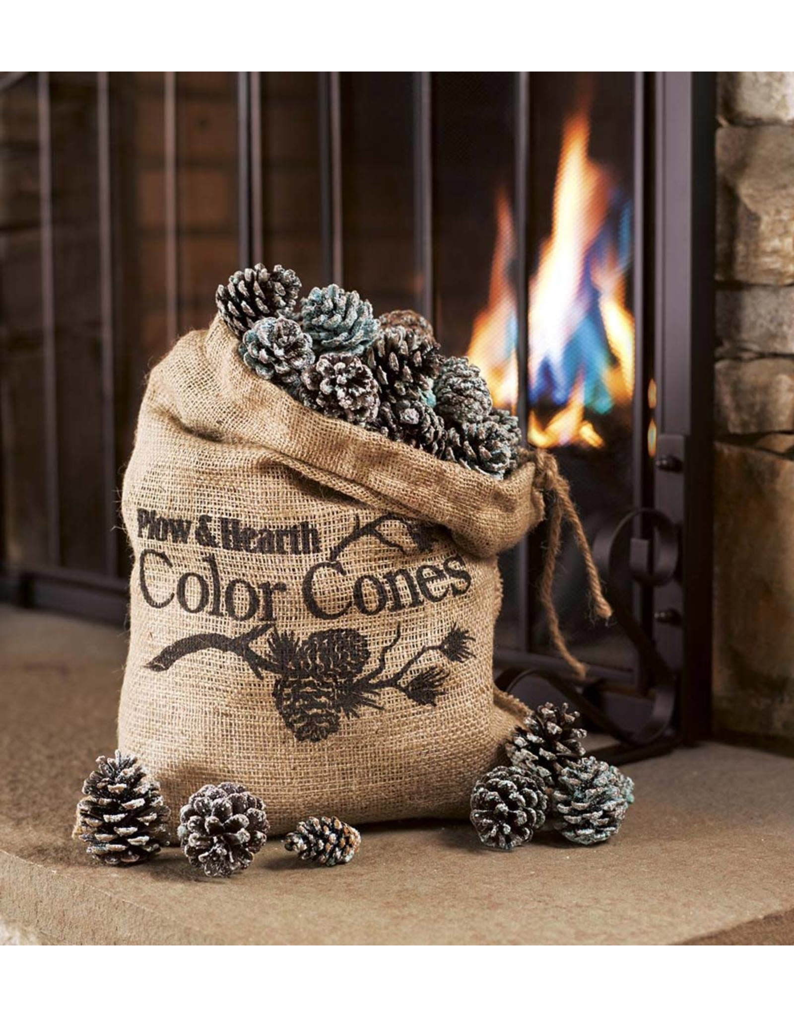 EE2964 COLOR CHANGING FIREPLACE COLOR CONES 5LB BAG