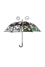 Esshert Design NACHTP275 Colour Changing Umbrella-BIRDS