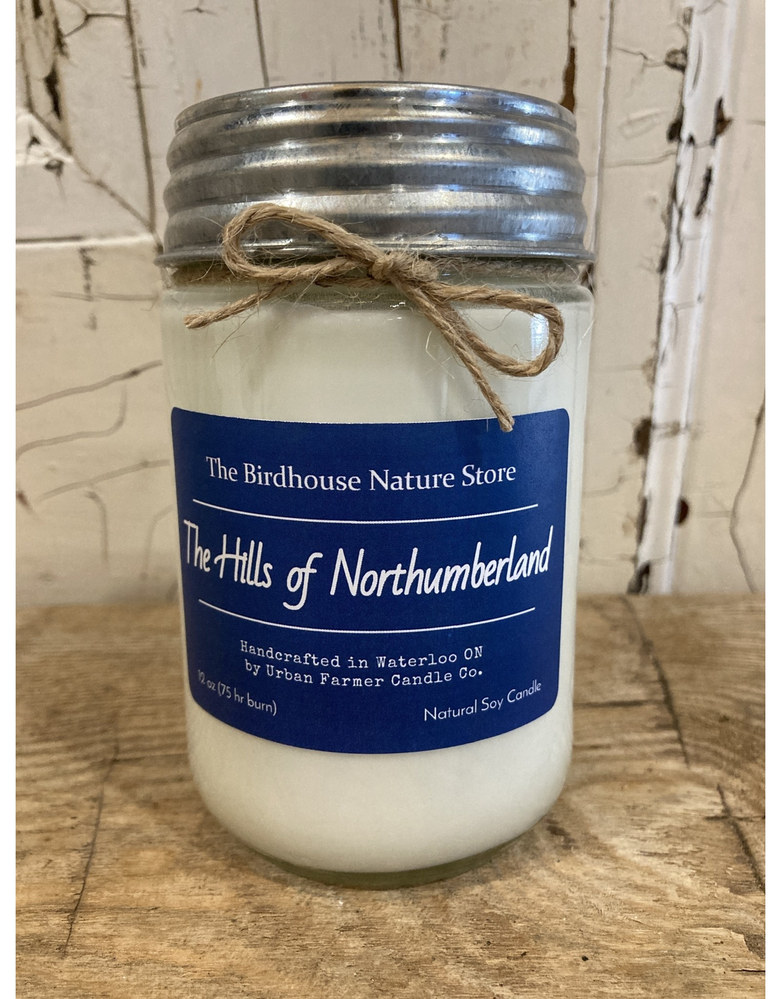 Urban Farmer Candle Co UFCCNH The Hills of Northumberland Natural Soy Candle, 12 oz