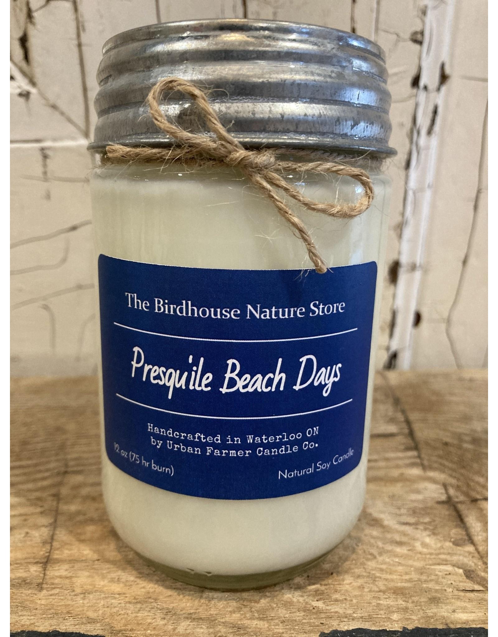 Urban Farmer Candle Co UFCCPBD Presqu'ile Beach Days Natural Soy Candle, 12 oz