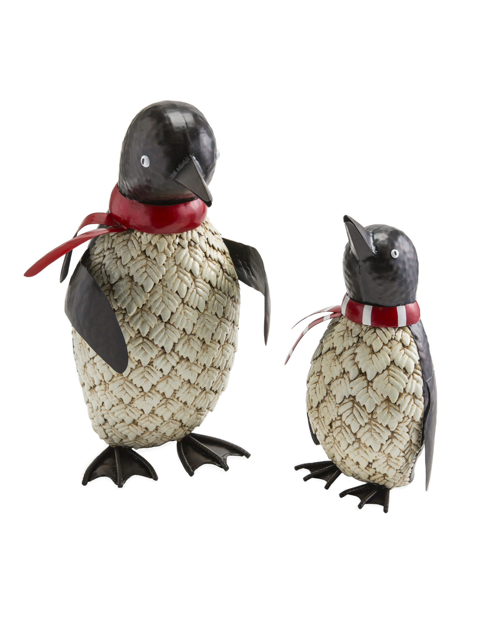 EE54905 Metal Holiday Penguin Set of 2