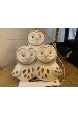 GiftCraft GC1772 Owl Trio ornament