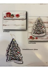 Lang BF6005 Lang Christmas Tree Ornament Christmas Cards box of 8