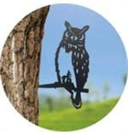 PANAM PUI016 Owl Tree Stake