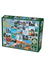 Cobble Hill Puzzles OM80310 National Parks and Reserves of Canada 1000pc Cobble Hill Puzzle