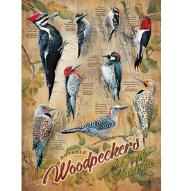 Cobble Hill Puzzles OM85007 Notable Woodpeckers 500pc Cobble Hill Puzzle
