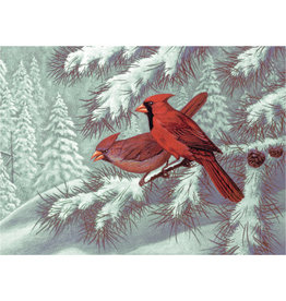 Royal & Langnickel OM06847 Paint by number 13pc Cardinals