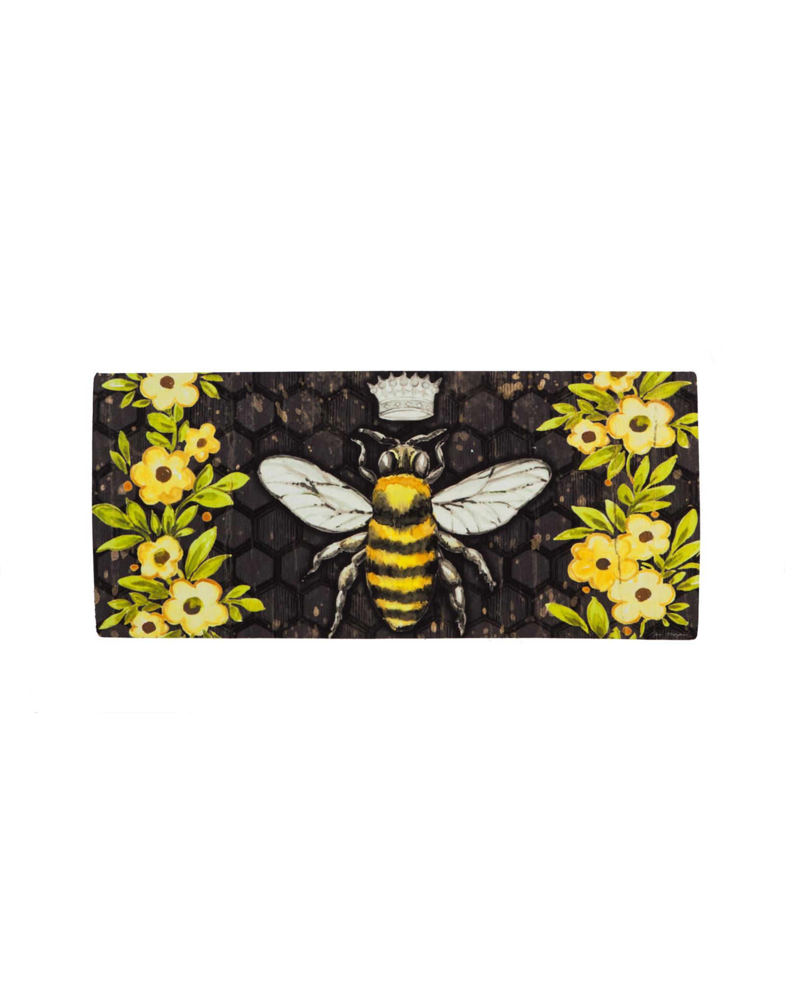 Sassafras EE1615  Sassafras Switch Mat Bee Happy Queen Bee ( No Tray)