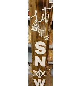 "Tri W TW1364 4'x8""x1"" Reversible Home Porch Sign"