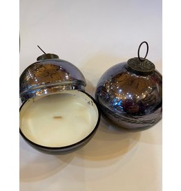 Abbott AB01SMOKE Small Ornament Covered Candle