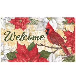 Carson EL42065 - Mat -Christmas Cardinals