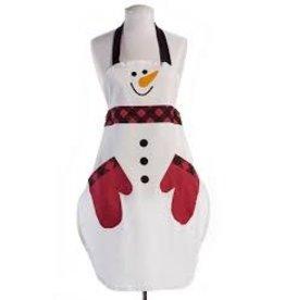 GiftCraft GC7343 Cotton Snowman Apron