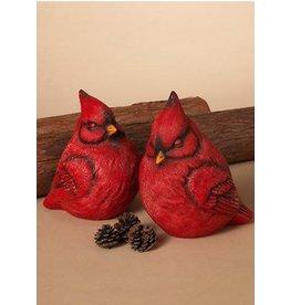 Tri W TW8140 Resin Sleeping Cardinal Figurine - 2 Asst