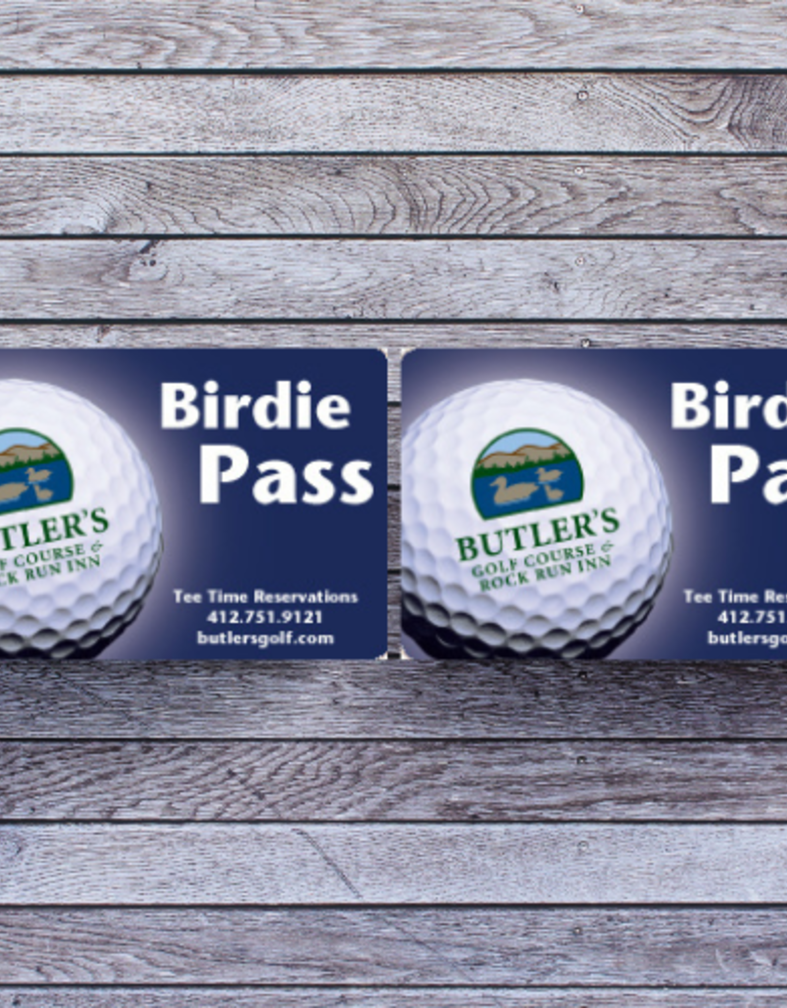 Senior Birdie Card