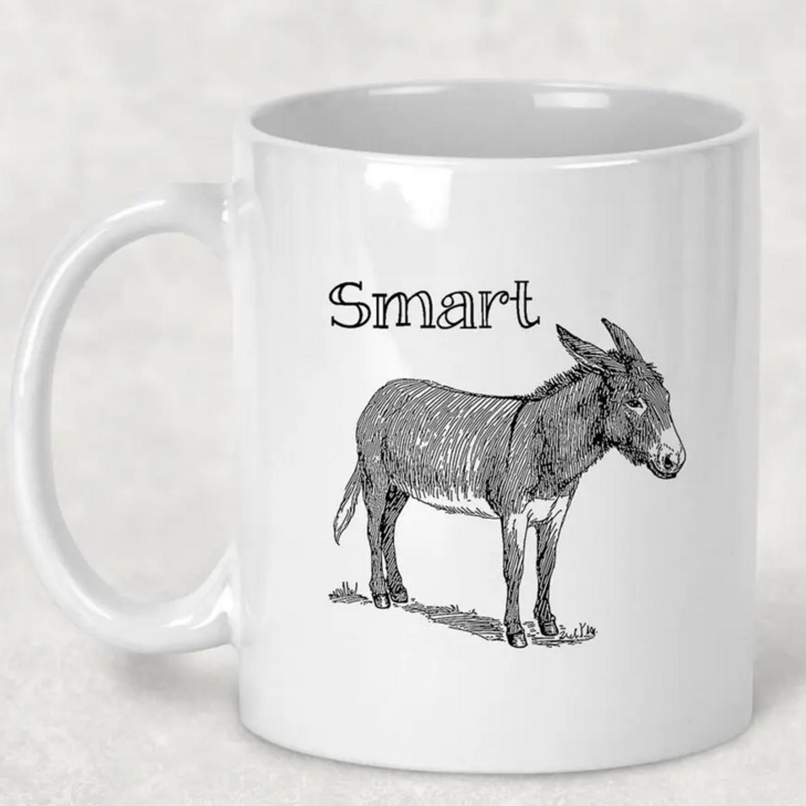 Indigo Faire Donkey Mug