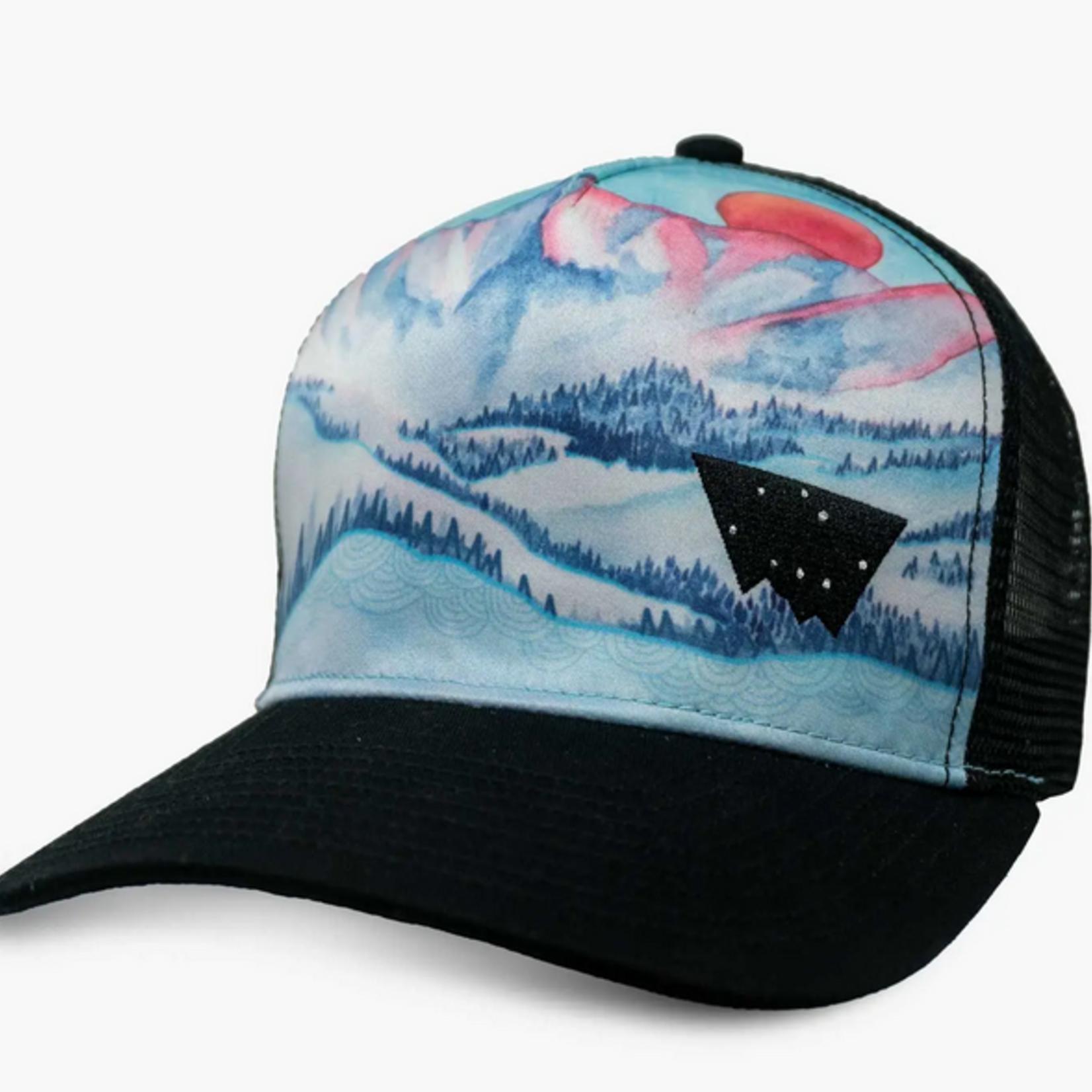 Indigo Faire Gore Range Colorado Trucker Hat