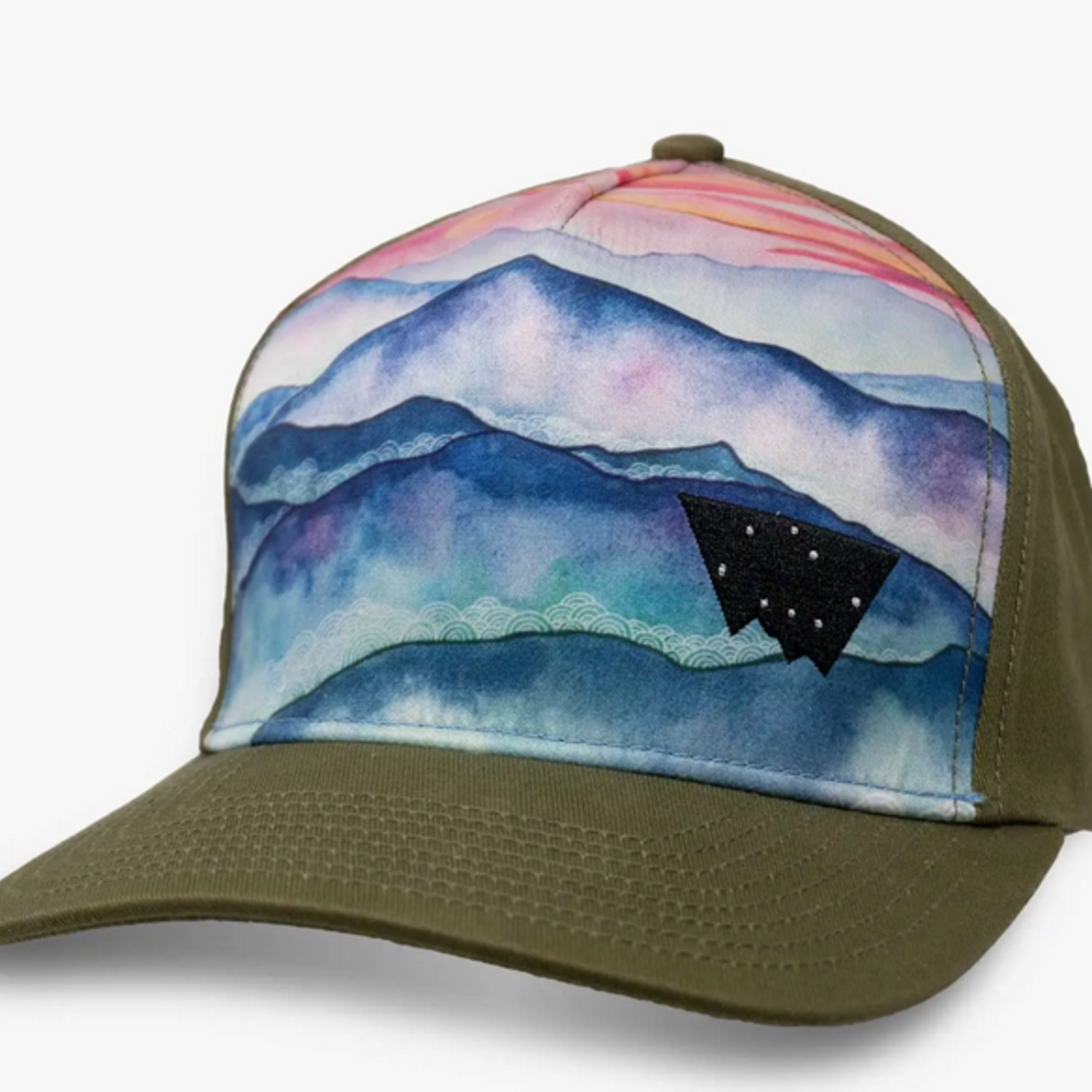 Indigo Faire Blue Ridge Mountains Trucker Hat