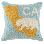 Indigo Faire California Bear Pillow