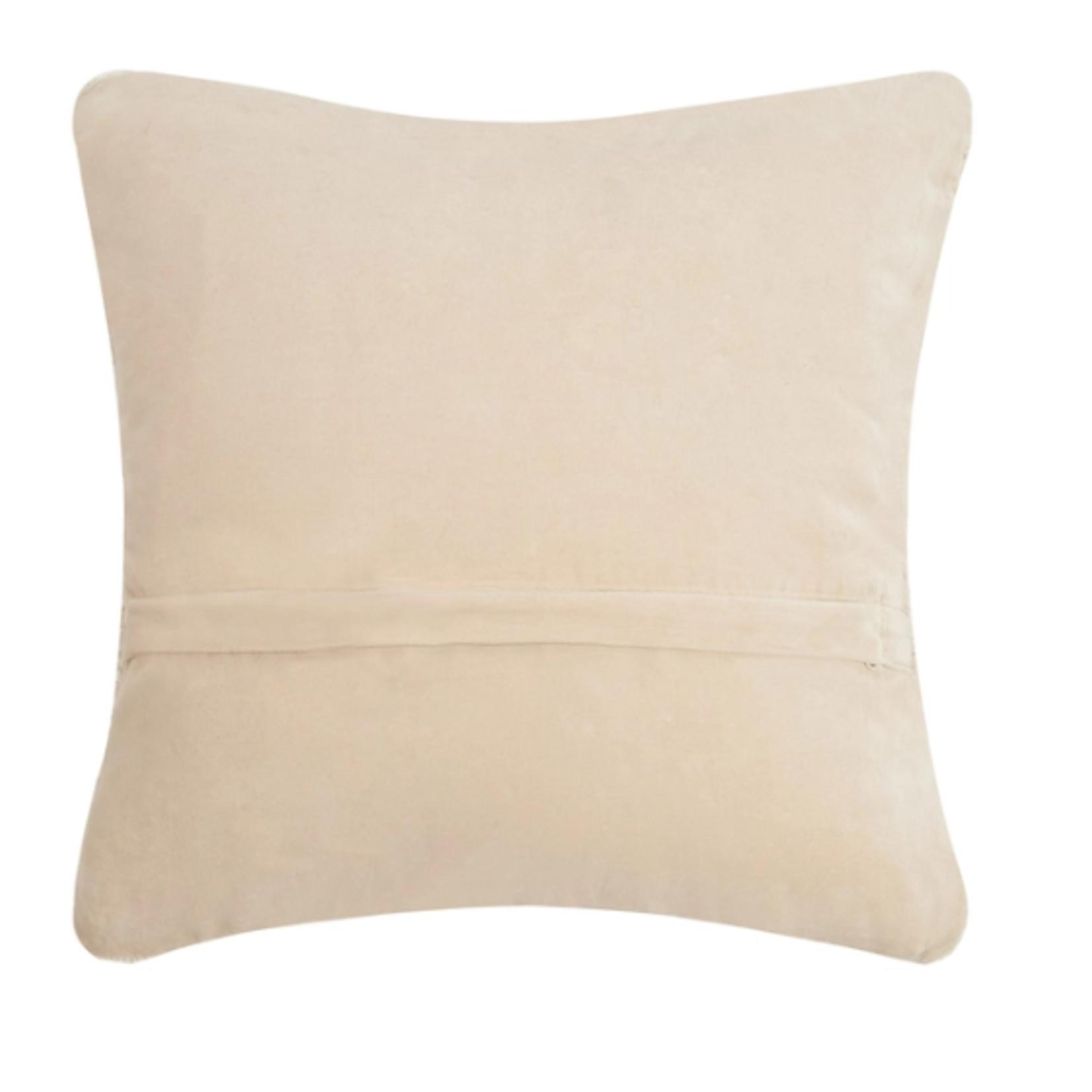 Indigo Faire Califonia Heart Pillow
