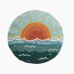 Indigo Faire Sun Seascape Pillow
