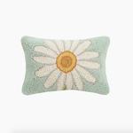 Indigo Faire Daisy Hook Pillow