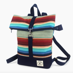Indigo Faire Mini Brightday Backpack Ocean Beach