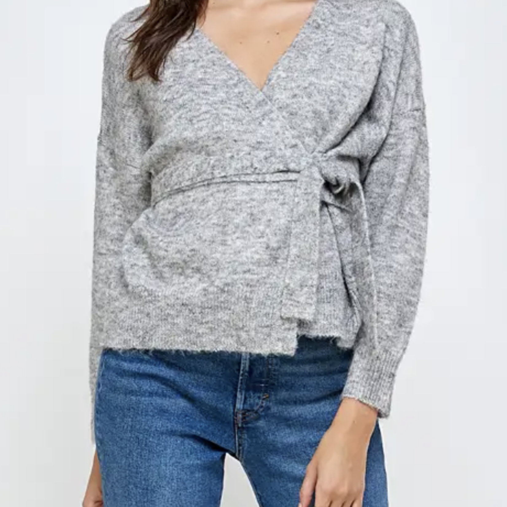 Indigo Faire The Wrap Sweater