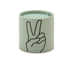 Paddywax 5.75oz Ceramic Impressions Candles