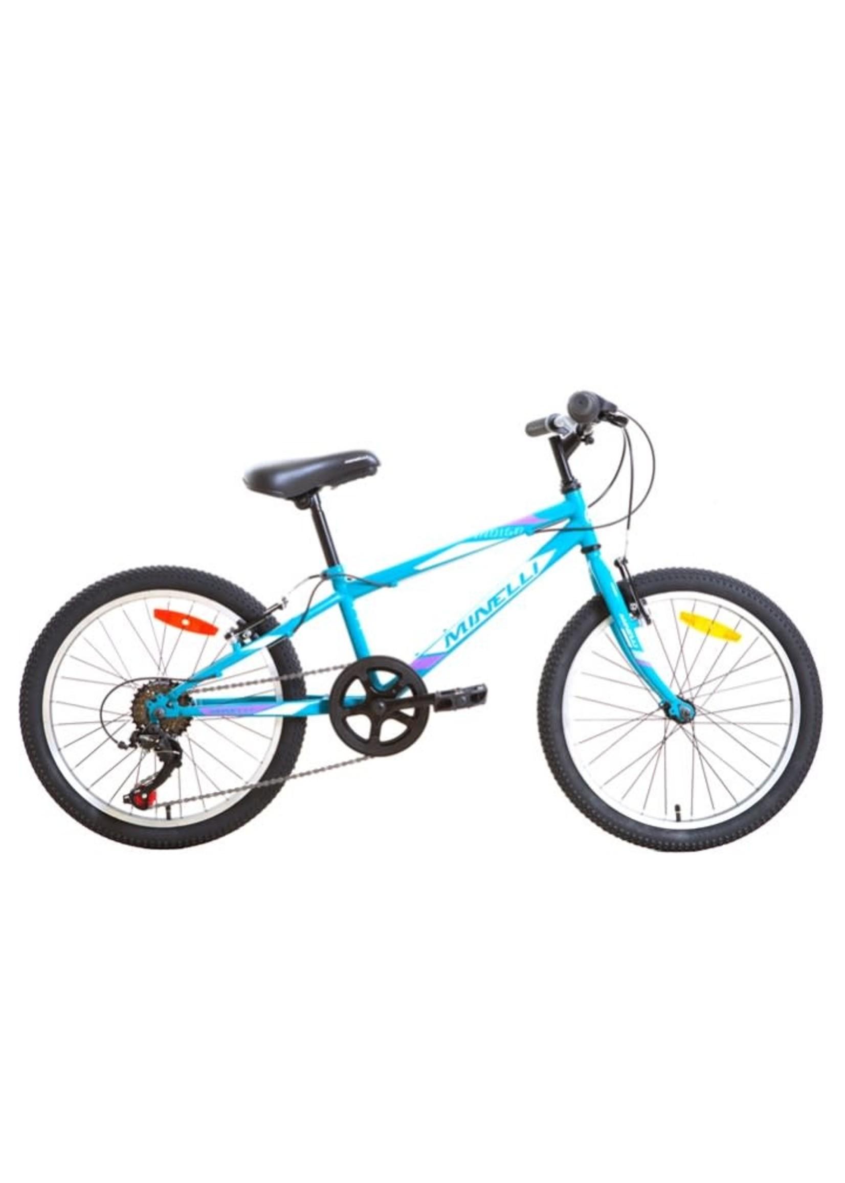 "MINELLI Vélo Indigo 20"" - Aqua/Noir"