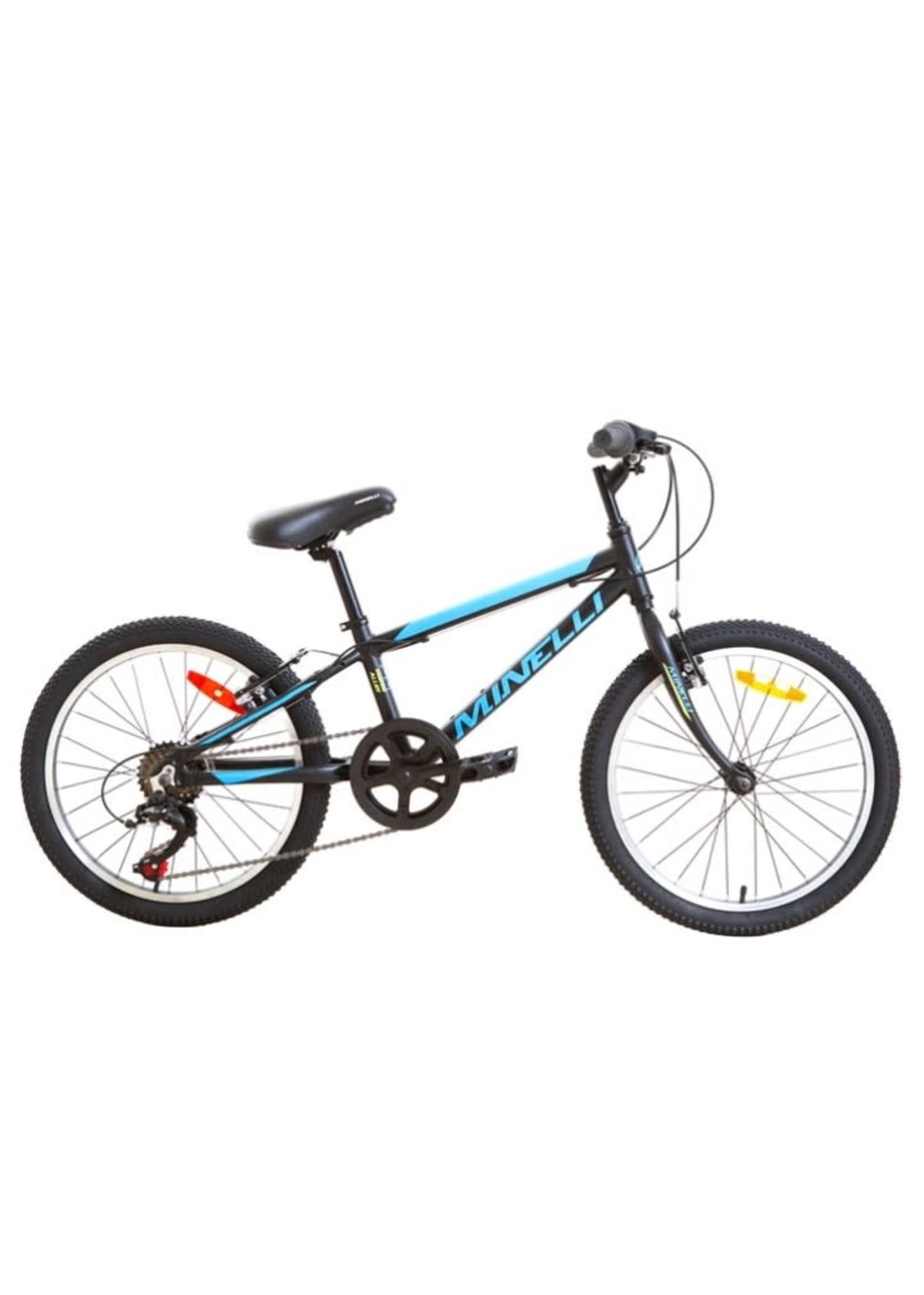 """MINELLI Vélo Indigo Alloy 20"""" - Noir/Bleu"""