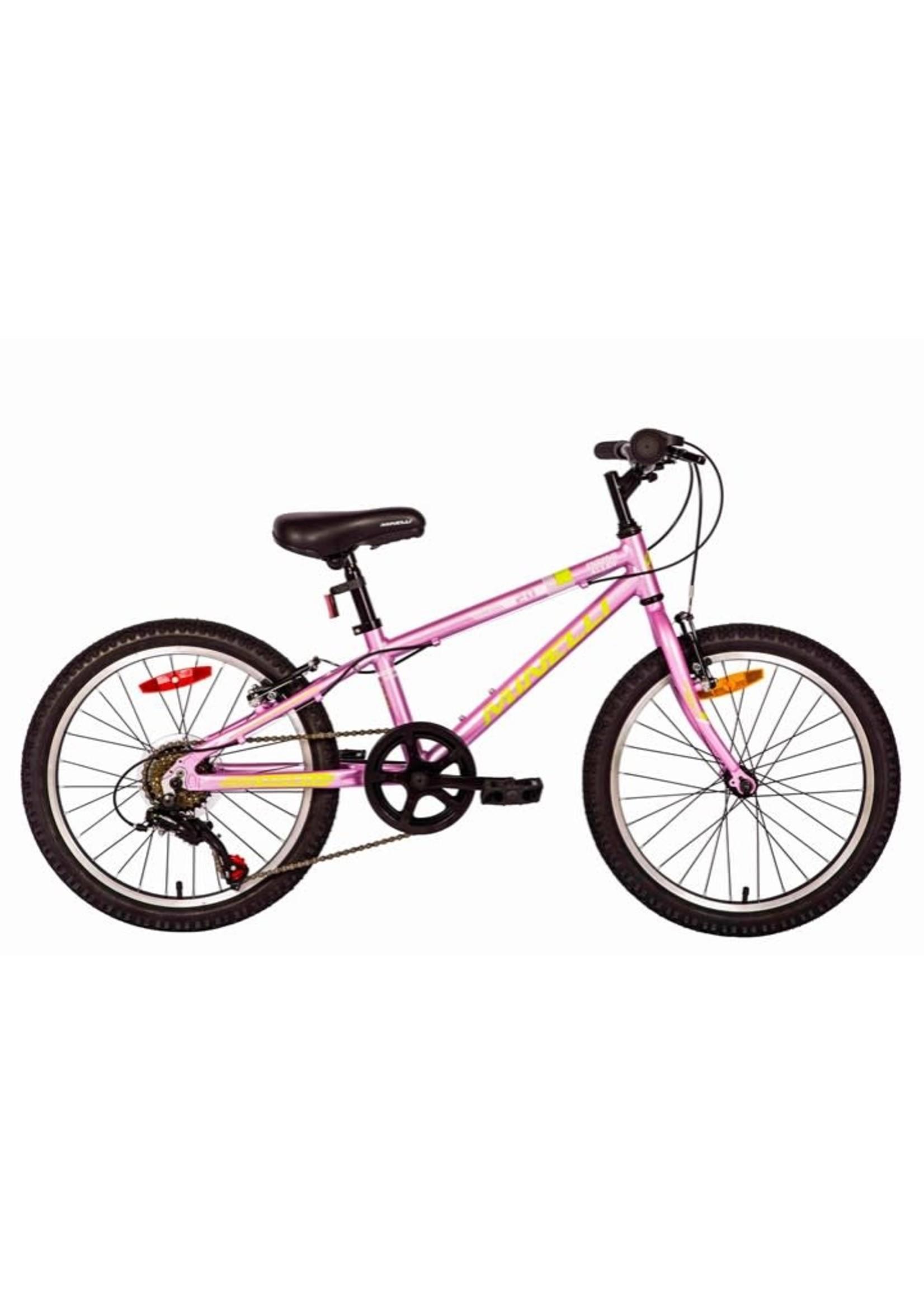 "MINELLI Vélo Indigo Alloy 20"" - Rose"