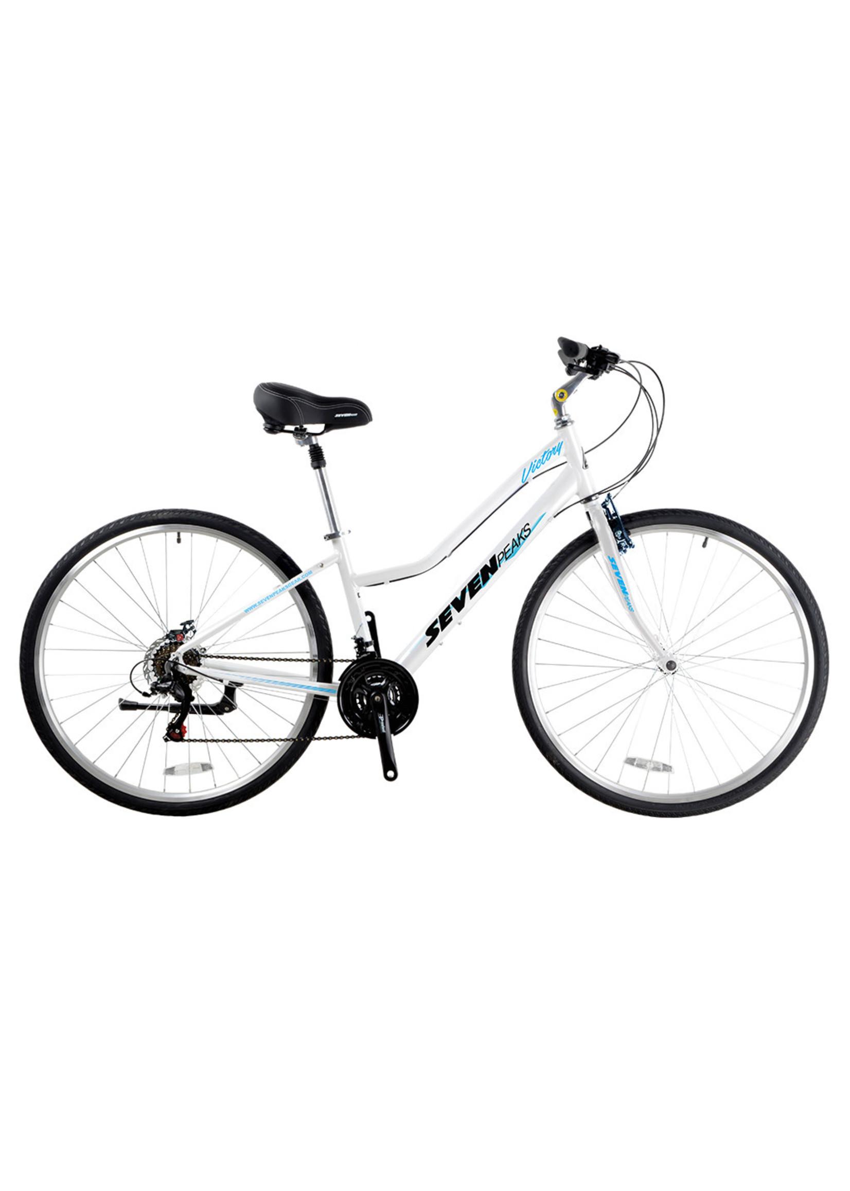 SEVEN PEAKS Vélo Victory - Blanc/Bleu