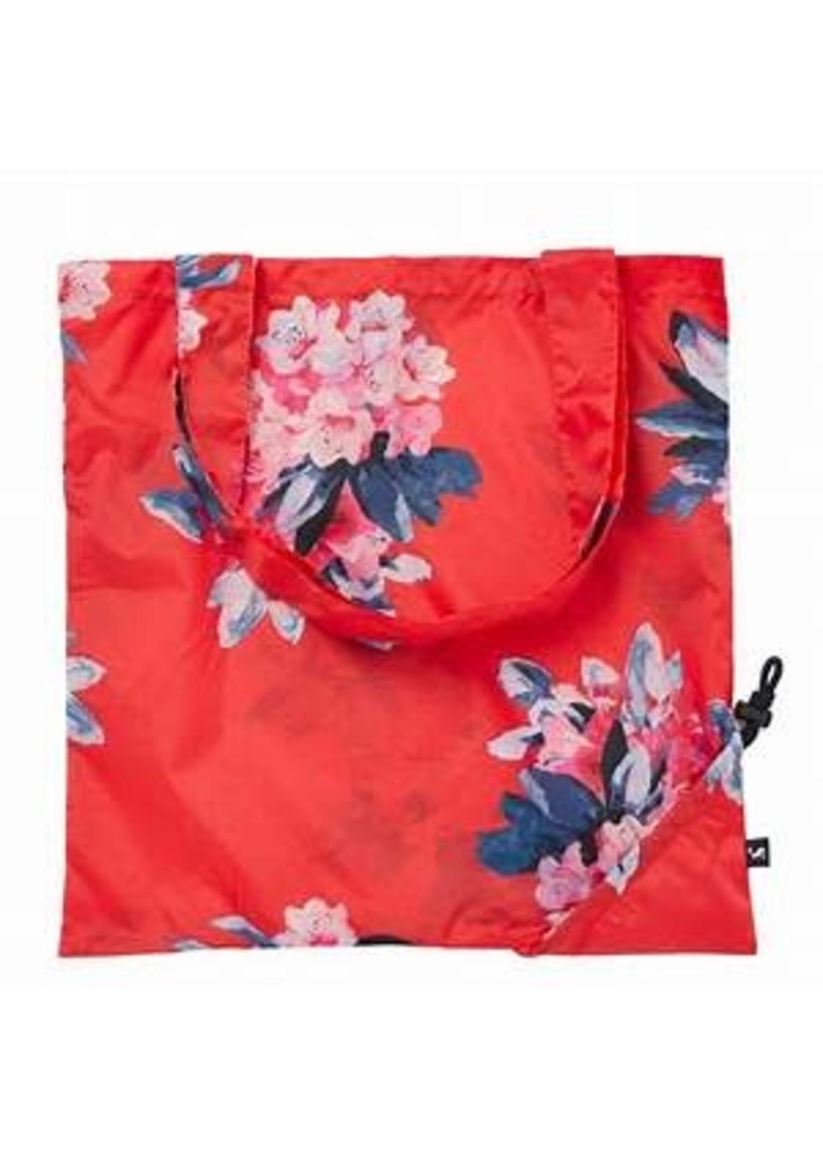 JOULES Sac Pacabag Fleurs / Rouge
