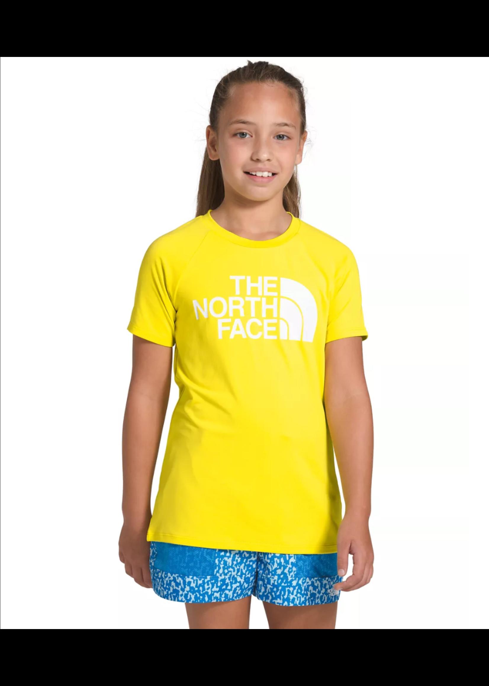 THE NORTH FACE T-shirt aquatique Class V / Medium / Citron