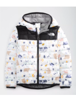 THE NORTH FACE Toddler ThermoBall™ Eco Hoodie / 3T / Blanc et Noir