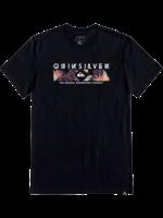 QUIKSILVER T-shirt Distant Shore MT0 / Small / Noir