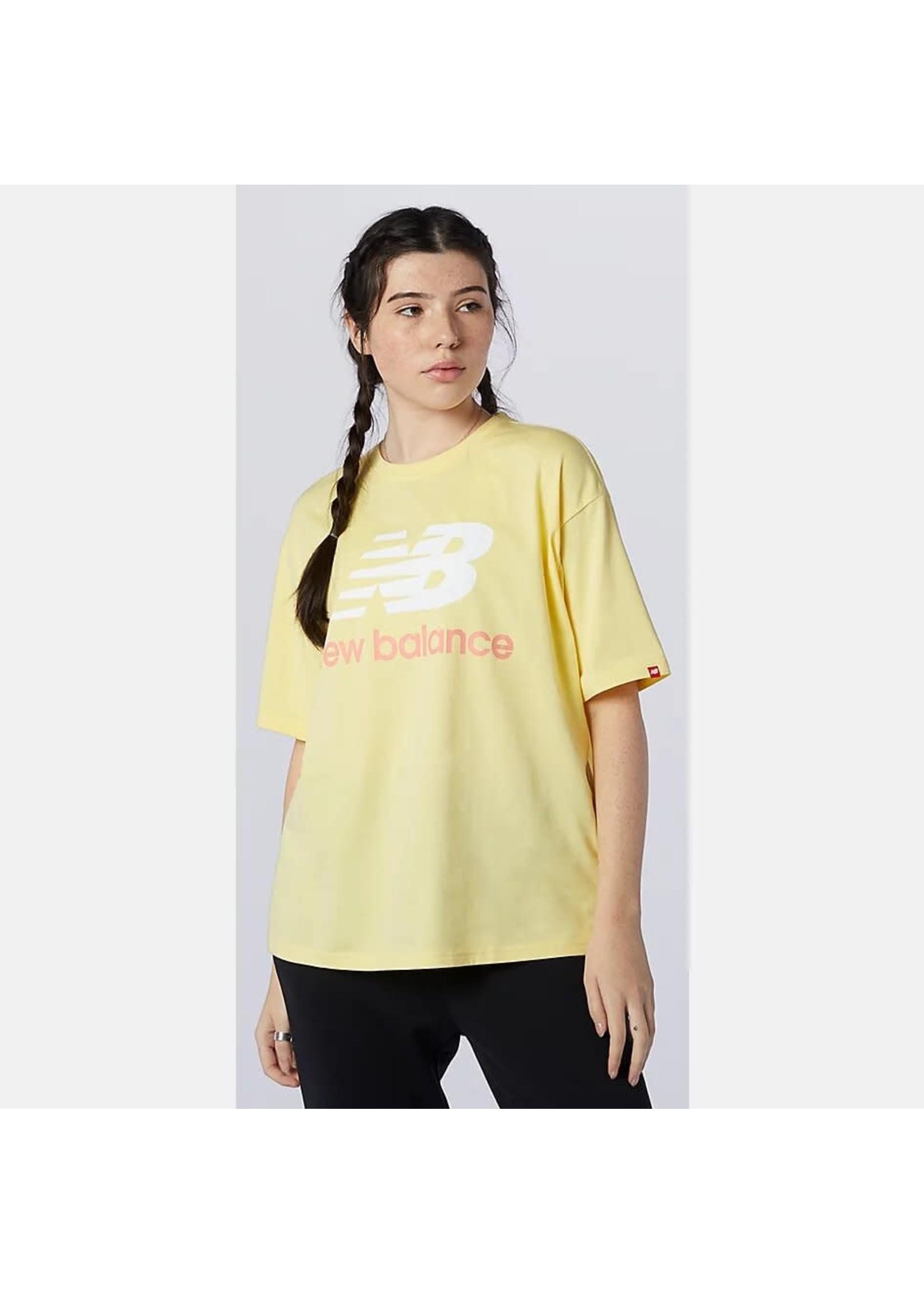 NEW BALANCE T-shirt à logo superposé Essentials